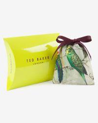 Ted Baker - Gray Woven Leather Bracelet for Men - Lyst