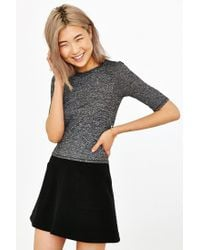 Silence + Noise | Gray Delaney Classic Top | Lyst