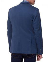 Jules B - Blue Jet Cotton Jacket for Men - Lyst