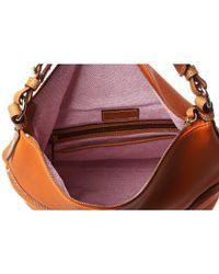 Dooney & Bourke Orange Dillen 2 Medium Zipper Pocket Sac