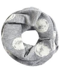 Crea Concept Gray Spot Knit Snood