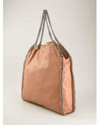 Stella McCartney - Brown 'Falabella' Shoulder Bag - Lyst