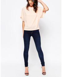 Vero Moda Blue Super Skinny Jean