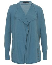 Betty Barclay Green Long Edge To Edge Cardigan