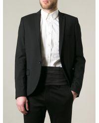 Emporio Armani Black Classic Cummerbund for men