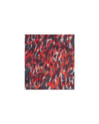 Whistles Red Tyler Animal Print Scarf