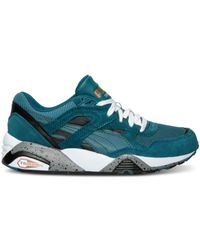 PUMA | Blue Women's R698 Fast Graphic Casual Sneakers From Finish Line | Lyst