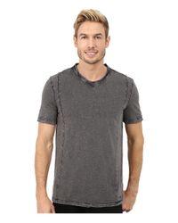 Calvin Klein Jeans White Short Sleeve Wash Story V-neck for men