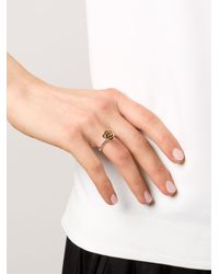 Rosa Maria - Metallic 'Sawsene' Ring - Lyst