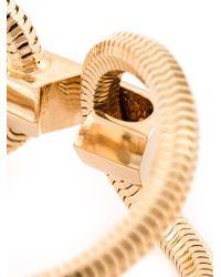 Lara Bohinc   Metallic 'schumacher' Double Bracelet   Lyst