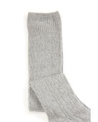 Forever 21 | Gray Textured Knee-High Socks | Lyst