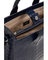 HUGO Blue 'valerie-c'   Leather Shopper With Detachable Strap