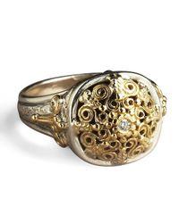 Konstantino | Metallic Ornate Diamond Ring | Lyst