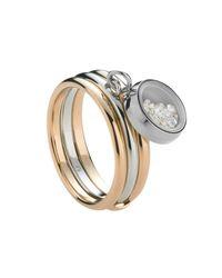Storm - Metallic Rose Gold Mimi Ring - Lyst