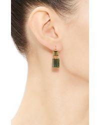 Renee Lewis - Green One Of A Kind Alternating Chrome Tourmaline Earrings - Lyst
