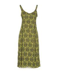 DRESSES - 3/4 length dresses Kristina Ti C7ExzGsRQ