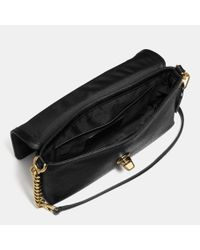 COACH - Black Crosstown Crossbody In Pebble Leather - Lyst