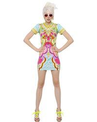 Manish Arora - Multicolor Printed Cotton Jersey Dress - Lyst