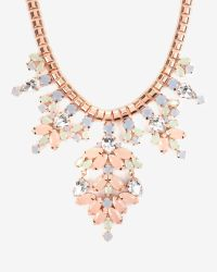 Ted Baker Pink Pastel Statement Necklace