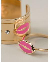 Maria Francesca Pepe Pink Lip Rings