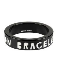 Sonia Rykiel - Black Bracelet - Lyst