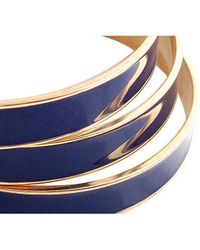 Tuleste | Blue Channel Bangles | Lyst