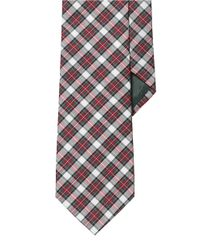 Lauren by Ralph Lauren | White Plaid Silk Tie for Men | Lyst
