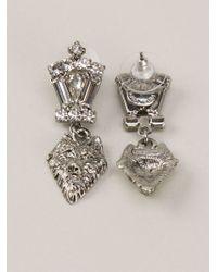 Tom Binns | Metallic Small Wolf Earrings | Lyst
