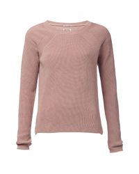 Tommy Hilfiger | Pink Flair Sweater | Lyst