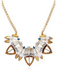 Scho - Metallic Shalom Complex Necklace - Lyst