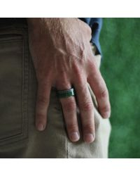 Todd Reed - Metallic Green Jade Ring - Lyst