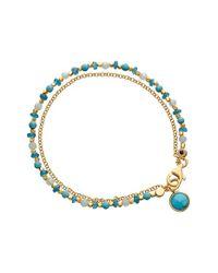 Astley Clarke - Blue 'turquoise Biography' Bracelet - Lyst