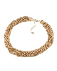 Carolee | Metallic Beaded Torsade Necklace, 16"