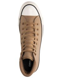 Converse | Brown Men's Chuck Taylor All Star Boot Pc Casual Sneakers From Finish Line for Men | Lyst