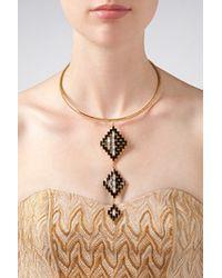 Erickson Beamon - Metallic Gold-Plated Necklace - Gold - Lyst
