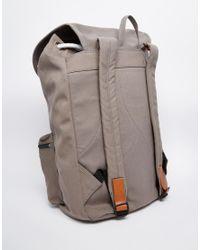 Sandqvist - Gray Ground Roald Backpack for Men - Lyst