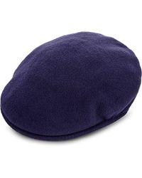 Kangol Blue 507 Seamless Wool Flat Cap, Men's, Size: Xl, Atlantis for men