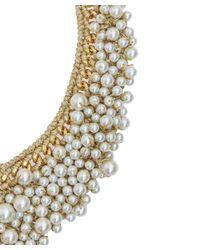Venessa Arizaga - Metallic Pearl Dancing Queen Necklace - Lyst