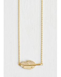 Ana Accessories Inc - Metallic Nature's Touch Necklace - Lyst