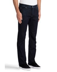 7 For All Mankind Blue Standard in Midnight Waters for men