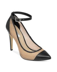 BCBGeneration - Natural Cynthia Mesh Pumps - Lyst