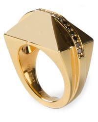 Ruifier Metallic 'icon Shard' Ring