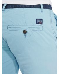 Blend - Blue Chino Shorts for Men - Lyst