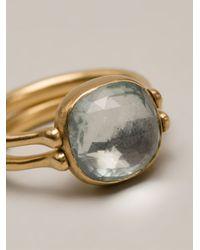 Marie-hélène De Taillac | Blue Reversible Ring | Lyst
