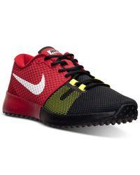 Nike Black Men'S Zoom Speed Tr 2 Training Sneakers From Finish Line for men