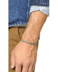 Caputo & Co. | Metallic Artisan Silver Bracelet for Men | Lyst