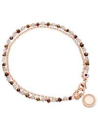 Astley Clarke | Pink Rose Gold Vermeil Cosmos Friendship Bracelet | Lyst