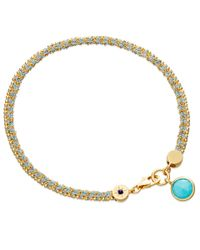 Astley Clarke Blue Duck Egg Cosmos Biography Bracelet