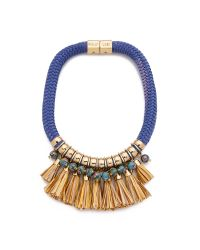 Holst + Lee | Multicolor Fringe Necklace - Kona Beach | Lyst