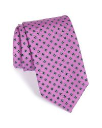 JZ Richards | Purple Medallion Silk Tie for Men | Lyst